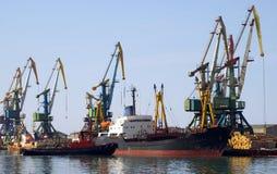 le commerce de mer gauche image libre de droits
