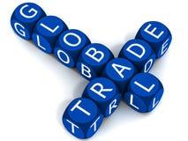 Le commerce global Images libres de droits