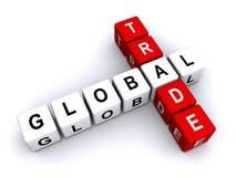 Le commerce global illustration libre de droits