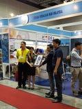 Le commerce international malaisien 27 juillet 2016 de nourriture et de boisson juste à KLCC Photos libres de droits