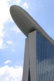 Le compartiment de marina de Singapour sable l'hôtel Photos libres de droits