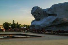 Le complexe commémoratif de la forteresse de Brest au Belarus image libre de droits