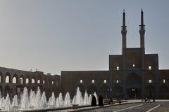 Le complexe d'Amir Chakhmaq Mosque chez Yadz, Iran Photographie stock