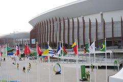 Le complexe de Carioca à Rio2016 Barra Olympic Park Photos libres de droits