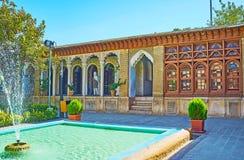 Le complexe de palais à Chiraz, Iran Photo stock