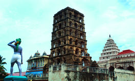 Le complexe de palais de maratha de thanjavur Image libre de droits
