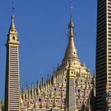 Thambuddhei Paya - Monywa - Myanmar Images stock
