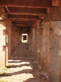 Le complexe de temple de Hampi, un site de patrimoine mondial de l'UNESCO dans Karnataka, Inde images libres de droits