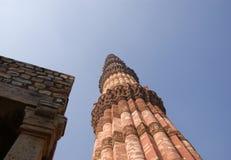 Le composé de Qutb, DELHI, INDE Image stock