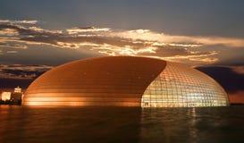 Le composé de théâtre national neuf ouvert de Pékin Photos stock