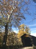 Le comté d'Ashtabula est la capitale de pont couvert de l'Ohio - l'OHIO - les Etats-Unis photos libres de droits