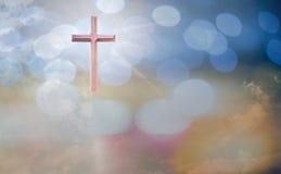 Le concept adorant de Dieu, les gens ouvrent les mains vides avec des paumes  Images libres de droits