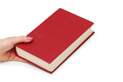 Le concept d'éducation avec les livres rouges de couverture Photos libres de droits