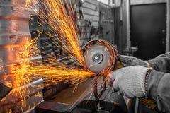 Le concept de l'atelier de réparation de voiture et de réparations de voiture images stock