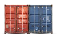 Le concept de l'exportation-importation et la livraison nationale des marchandises photos libres de droits