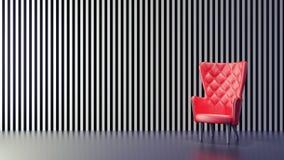Le concept de la conception intérieure à la maison moderne 3D rendent Photo stock