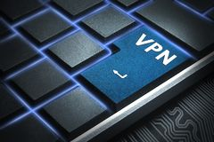 Le concept de la connexion réseau Censure dans le réseau Protection des données image libre de droits