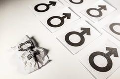 Femme maltraitée Photographie stock libre de droits