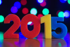 Le concept de la nouvelle année Image stock
