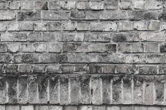 Le concept de mur de briques peut être employé comme fond photo libre de droits