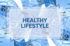 Le concept de santé, ferment le foyer haut et sélectif Images libres de droits