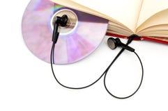 Le concept de sonore-livre. photographie stock libre de droits