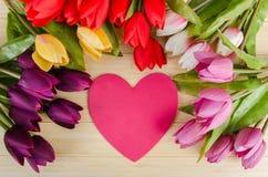 Le concept de vacances avec les fleurs et le copyspace Photos libres de droits
