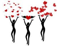 Le concept de Valentine Photographie stock