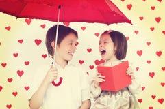 Le concept de Valentine Image stock