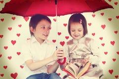 Le concept de Valentine Images libres de droits