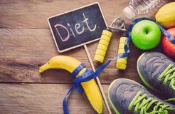 Le concept du régime pour la perte de poids Photos stock