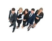 Le concept du succès dans les affaires et les affaires professionnelles team Image libre de droits