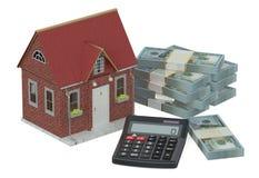 le concept finance à la maison Image libre de droits