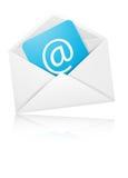 Le concept représentant l'email avec l'enveloppe pour vous conçoivent Images libres de droits