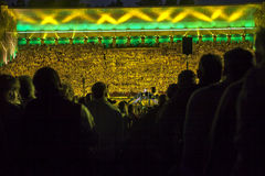Le concer grand national letton de finale de festival de chanson et de danse Photos libres de droits