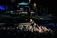 Le concert de Bruce Springsteen Photo libre de droits