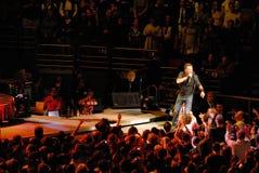 Le concert de Bruce Springsteen Photographie stock libre de droits