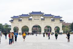 Le concert national Hall Tapiei, Ta?wan Salle de concert national tout pr?s Chiang Kai-shek Memorial Hall photo stock