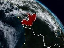 Le Congo la nuit illustration libre de droits
