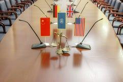 Le congrès du monde sur des droits de l'homme image stock