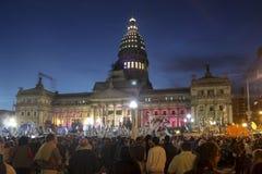 Le congrès national argentin images stock