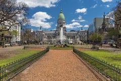 Le congrès national argentin Photo stock