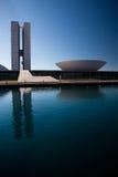 Le congrès national du Brésil Image libre de droits