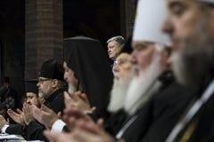 Le Conseil d'unité des églises orthodoxes ukrainiennes photos libres de droits