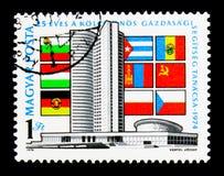 Le Conseil de l'aide économique mutuelle, 25ème anniversaire, serie, Photo stock
