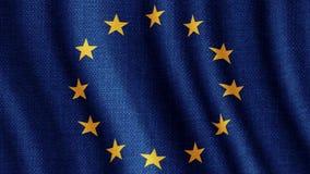 Le Conseil de l'Europe de drapeau d'Union européenne clips vidéos