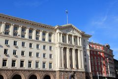 Le Conseil des ministres de la Bulgarie photo libre de droits