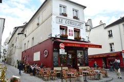 Le Consulat at Paris Stock Photography