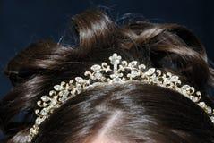 Le contact de couronnement Photos stock