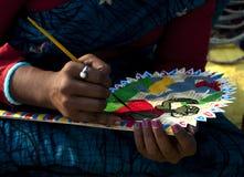 Le contact de l'artisan Images libres de droits